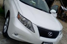 Foreign Used Lexus RX 350 2011 Model White