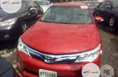 Foreing Used Toyota Camry 2013 Red