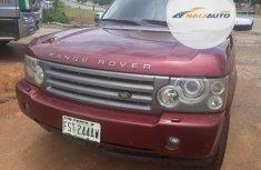 Nigeria Used Land Rover Range Rover Evoque 2006 Model Red