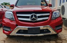 Foreign Used Mercedes-Benz GLK-Class 2010 Model Red