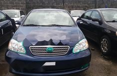 Clean Foreign used Toyota Corolla 2006