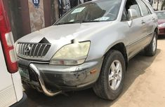 Nigerian Used Lexus RX 2002 Automatic Silver