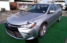 Nigeria Used Toyota Camry 2016 Model Silver