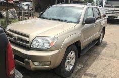 Nigeria Used Toyota 4-Runner 2005 Model Gold