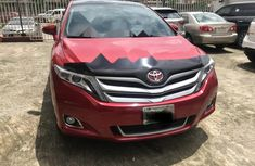 Nigeria Used Toyota Venza 2014 Model Red