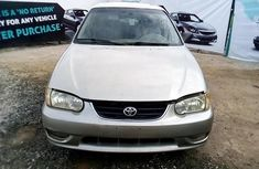 Nigerian Used 2001 Toyota Corolla for sale