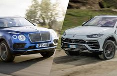 Top power clash: 2019 Bentley Bentayga vs 2019 Lamborghini Urus