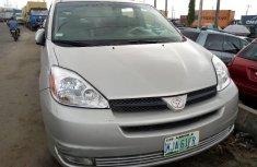 Very Clean Nigerian used Toyota Sienna 2004