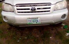 Nigeria Used Toyota Highlander 2006 Model Silver