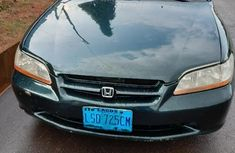 Nigeria Used Honda Accord Coupe 2000 Model Green