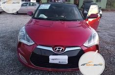 Tokunbo Hyundai Veloster 2012 Model Red
