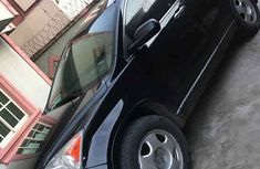2009 Honda CR-V Neatly Used Black SUV in Lagos
