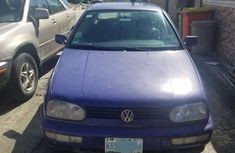 1997 Volkswagen Golf3 Foreign Used Blue for Sale in Lagos