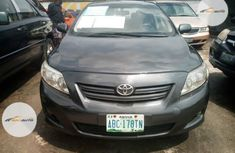 Nigeria Used Toyota Corolla 2009 Model Gray