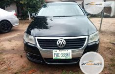 Nigeria Used Volkswagen Passat 2007 Model Black