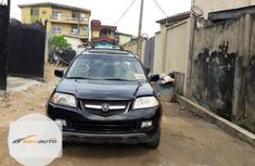 Clean Nigerian used Acura MDX 2005 Black
