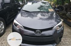 Foreign Used Toyota Corolla 2014 Model Blue