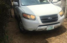 Nigeria Used Hyundai Santa Fe 2008 Model White