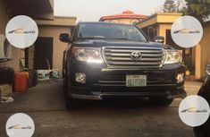 Nigeria Used Toyota Land Cruiser 2015 Model Black