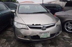 Neat Nigerian used Honda Civic 2007