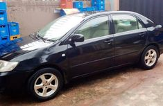 Nigeria Used Toyota Corolla 2006 Model Black