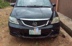Nigeria Used Honda City 2007 Model Black
