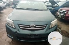 Foreign Used Toyota Corolla 2008 Model Beige
