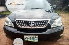 Nigeria Used Lexus RX 2008 Model Black