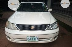 Nigeria Used Toyota Avalon 2002 Model White