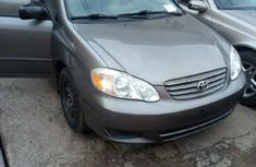 Foreign Used Toyota Corolla 2004 Model Gray