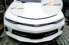 Very Clean Foreign used Chevrolet Camaro 2017 White