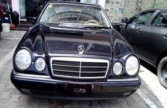 Properly maintained Nigerian used Mercedes-Benz E240 1999