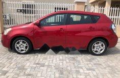 Properly maintained Nigerian used 2010 Pontiac Vibe