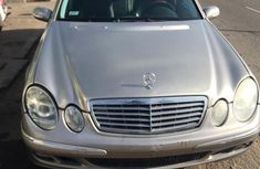 Foreign Used Mercedes-Benz E350 2006 Model Gold