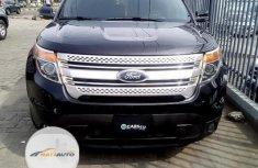 Nigeria Used Ford Explorer 2015 Model Black