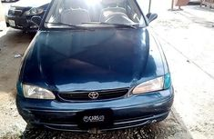 Properly maintained Nigerian used Toyota Corolla 2000