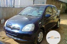 Foreign Used Toyota Yaris 2000 Model Blue