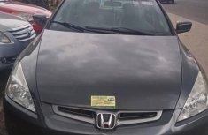 Tokunbo Honda Accord Sedan EX Automatic 2005 Model Gray