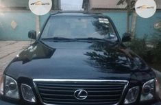 Foreign Used Lexus LX 2001 Model Black