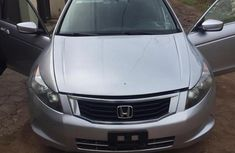 Nigerian Used Honda Accord 2008 2.0 Comfort Automatic Silver