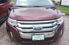 Ford Edge 2013 Red
