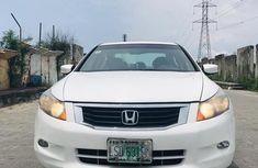 Very Clean Nigerian used Honda Accord 2008 2.4 EX-L White