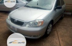 Foreign Used Toyota Corolla 2006 CE Silver