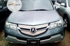 Foreign Used Acura MDX SUV 2007 Model Blue