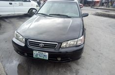 Foreign Used Toyota Camry 2002 Sedan Black Colour