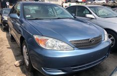 Foreign Used Toyota Camry 2005 Blue Sedan for Sale