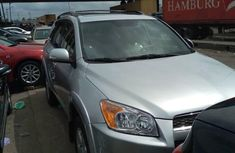 2010 Toyota RAV4 Tokunbo Silver SUV for Sale