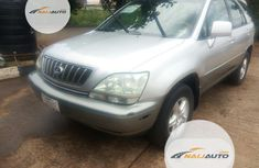 Foreign Used Lexus RX 2002 Silver