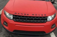 Very Clean Foreign used Land Rover Range Rover Evoque 2014 Gray