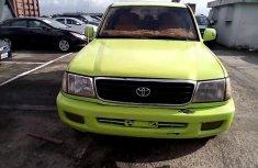 Very Clean Nigerian used 2000 Toyota Land Cruiser